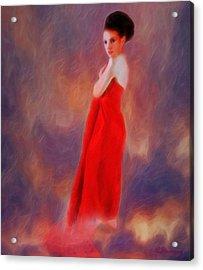 The Aura Of Her World Acrylic Print by Richard Hemingway