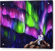 The Aurora Of Compassion Acrylic Print by Laura Iverson