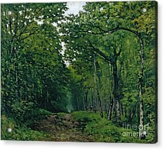 The Avenue Of Chestnut Trees Acrylic Print by Alfred Sisley