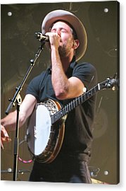 The Avett Brothers 02 Acrylic Print by Julie Turner