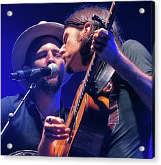 The Avett Brothers 03 Acrylic Print by Julie Turner