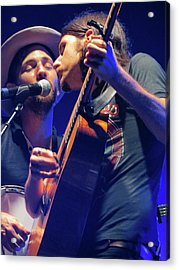 The Avett Brothers 04 Acrylic Print by Julie Turner