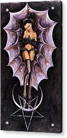 the Awakening of Lucifer and Diana Acrylic Print by Gabriel Alcaraz