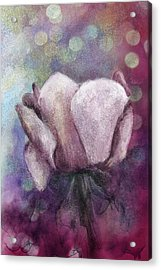 Acrylic Print featuring the painting The Award by Annette Berglund