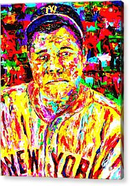 The Babe Acrylic Print by Mike OBrien