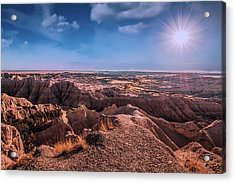 The Badlands Of South Dakota II Acrylic Print