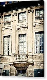 Acrylic Print featuring the photograph The Balcony by Jason Smith