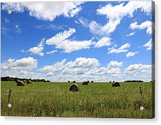 The Bales Of Summer 3 Acrylic Print
