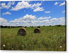 The Bales Of Summer Acrylic Print
