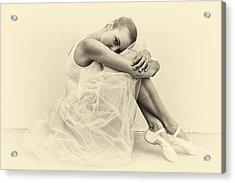 Le' Ballerina Acrylic Print