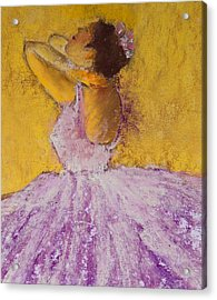 The Ballet Dancer Acrylic Print by David Patterson
