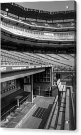 The Ballpark In Arlington Acrylic Print by Ricky Barnard