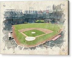 The Ballpark Acrylic Print by Ricky Barnard
