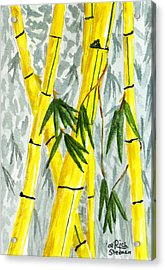 The Bamboo Forest Acrylic Print