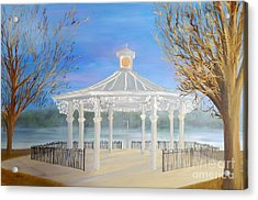 The Bandstand Basingstoke War Memorial Park Acrylic Print