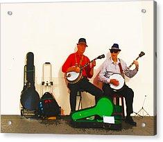 The Banjo Dudes Acrylic Print