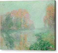 The Banks Of The Eure Acrylic Print by Gustave Loiseau