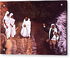 The Baptism Acrylic Print by Curtis James