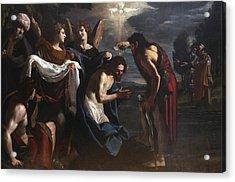 The Baptism Of Christ Acrylic Print