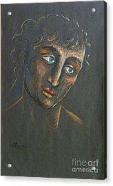 John Acrylic Print by Ushangi Kumelashvili
