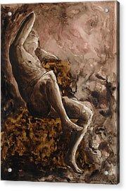 The Barberini Faun Acrylic Print by Michael  Price