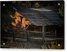 The Barn Acrylic Print