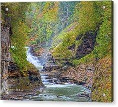 The Bashful Lower Falls Acrylic Print
