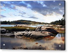 The Basin, Vinalhaven, Maine Acrylic Print