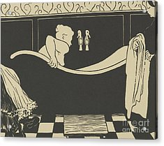 The Bath Acrylic Print by Felix Edouard Vallotton