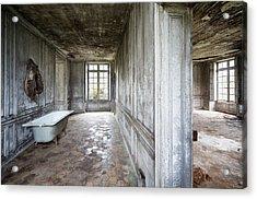 The Bathroom Next Door - Urban Exploration Acrylic Print