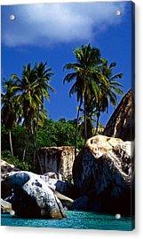 The Baths. British Virgin Islands Acrylic Print