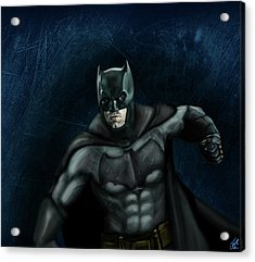 The Batman Acrylic Print