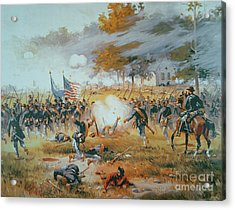 The Battle Of Antietam Acrylic Print
