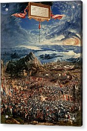 The Battle Of Issus Acrylic Print