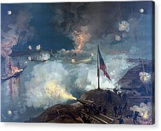 The Battle Of Port Hudson - Civil War Acrylic Print