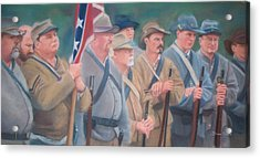 The Battle Of Wilson's Store Acrylic Print by Diane Caudle