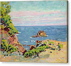 The Baumettes Acrylic Print by Jean Baptiste Armand Guillaumin