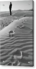 The Beach Comber Acrylic Print
