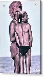 The Beach Acrylic Print by Gillis Cone