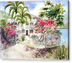 The Beach House Acrylic Print