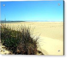 Acrylic Print featuring the photograph The Beach by Riana Van Staden
