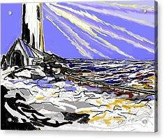 The Beacon Acrylic Print by Desline Vitto