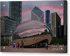The Bean - Chicago Acrylic Print by Jim Wright