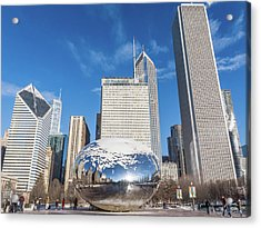 The Bean And The City Acrylic Print