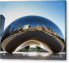 The Bean's Early Morning Reflections Acrylic Print