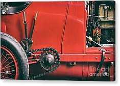The Beast Of Turin Abstract Acrylic Print by Tim Gainey