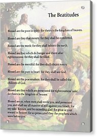 The Beatitudes Acrylic Print