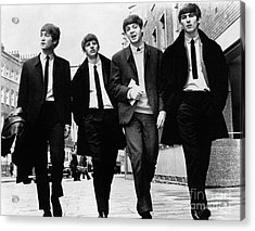 The Beatles - To License For Professional Use Visit Granger.com Acrylic Print