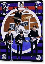 The Beatles - Live On The Ed Sullivan Show Acrylic Print