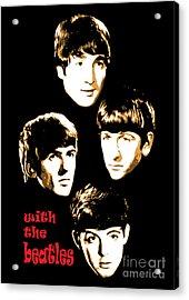 The Beatles No.20 Acrylic Print by Caio Caldas